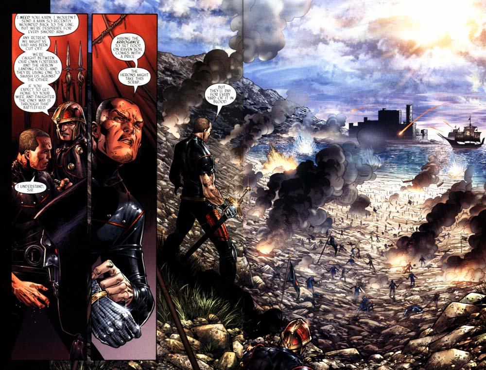 Read online Scion comic -  Issue #18 - 7