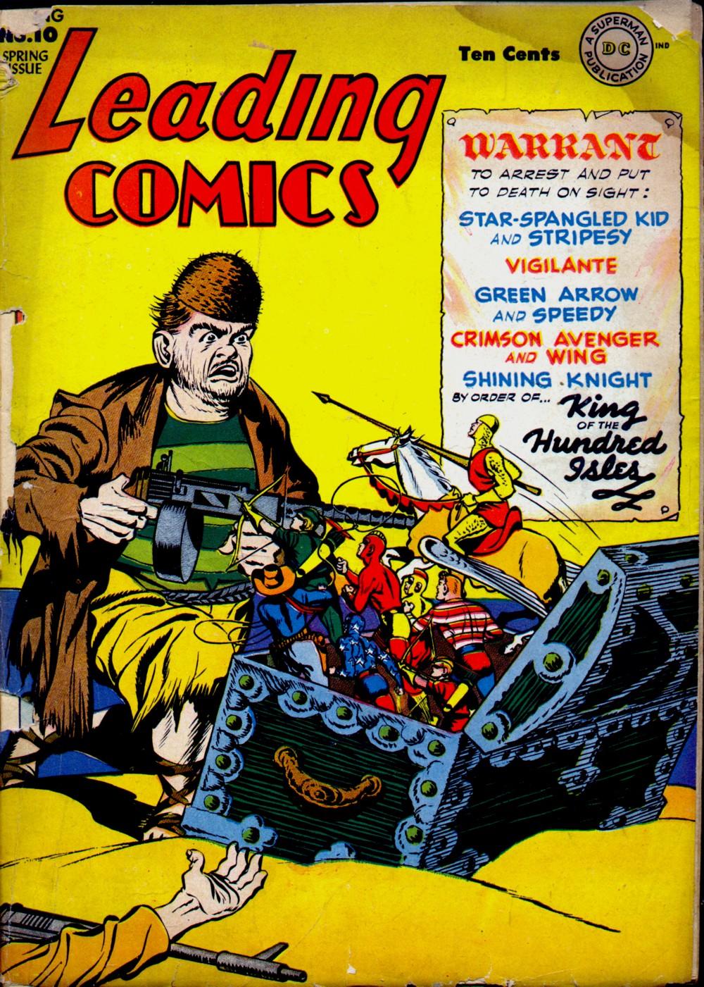 Leading Comics 10 Page 1