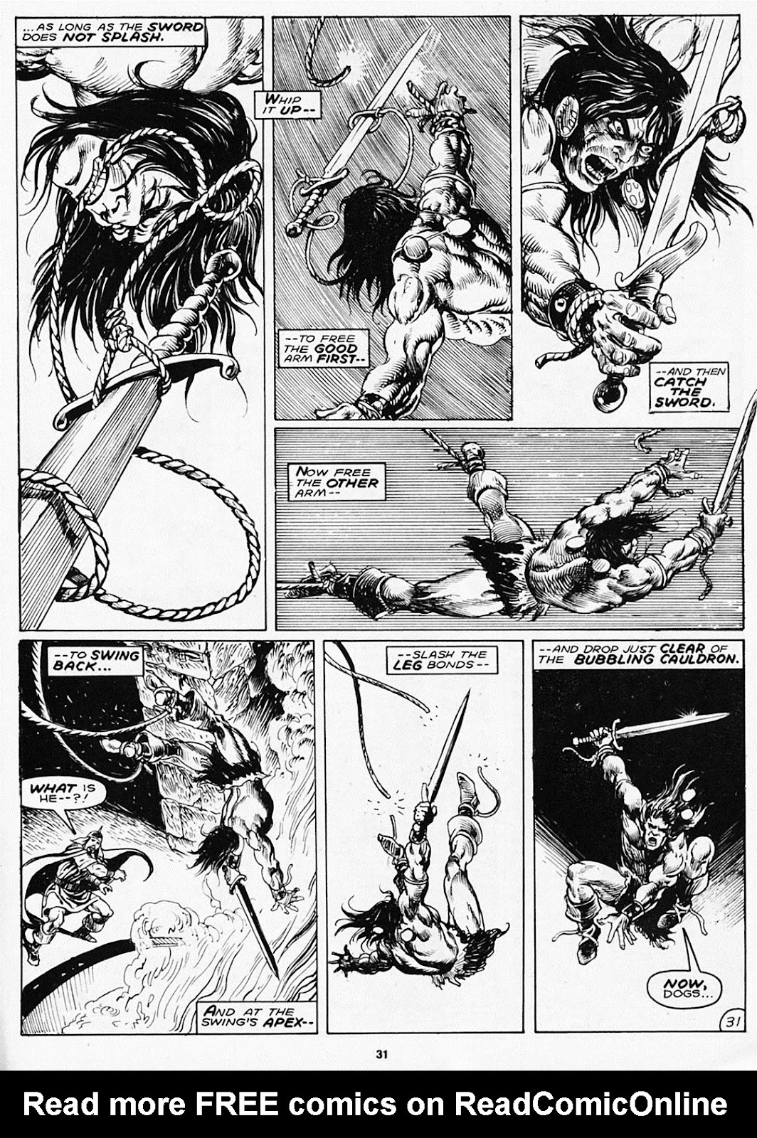 The Savage Sword Of Conan Issue #180 #181 - English 33