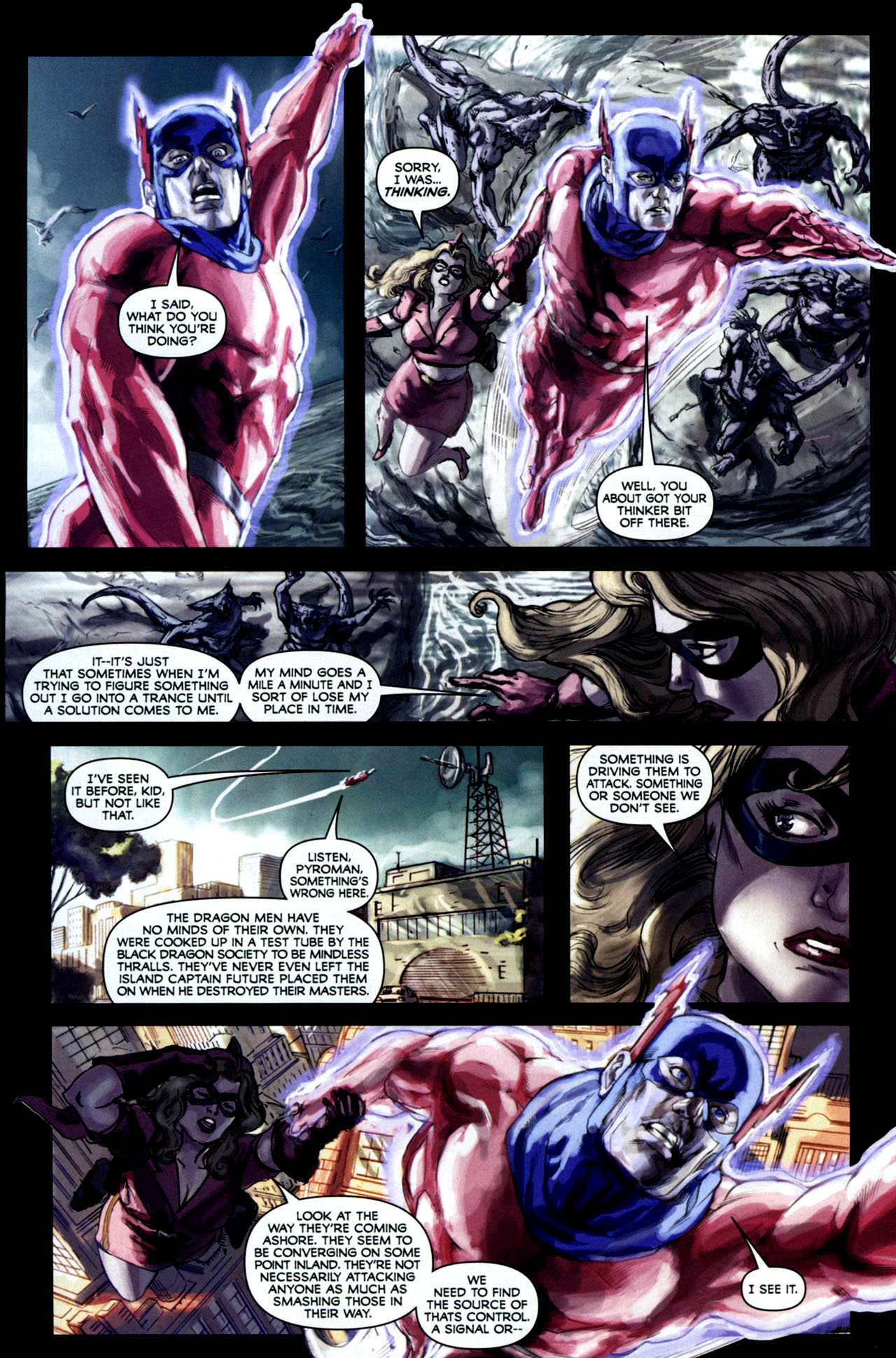 Read online Masquerade comic -  Issue #2 - 13