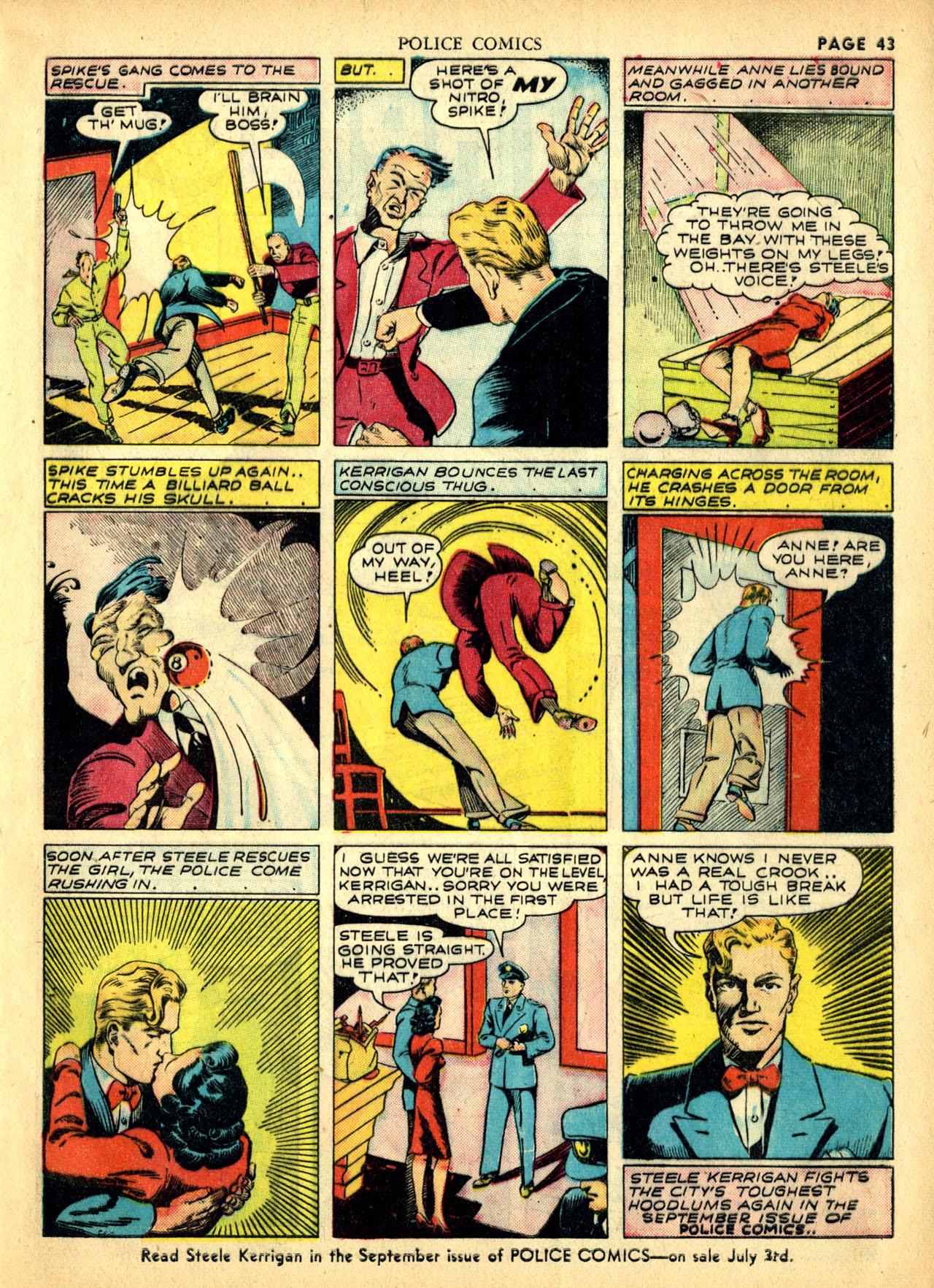 Police Comics #1 #127 - English 46