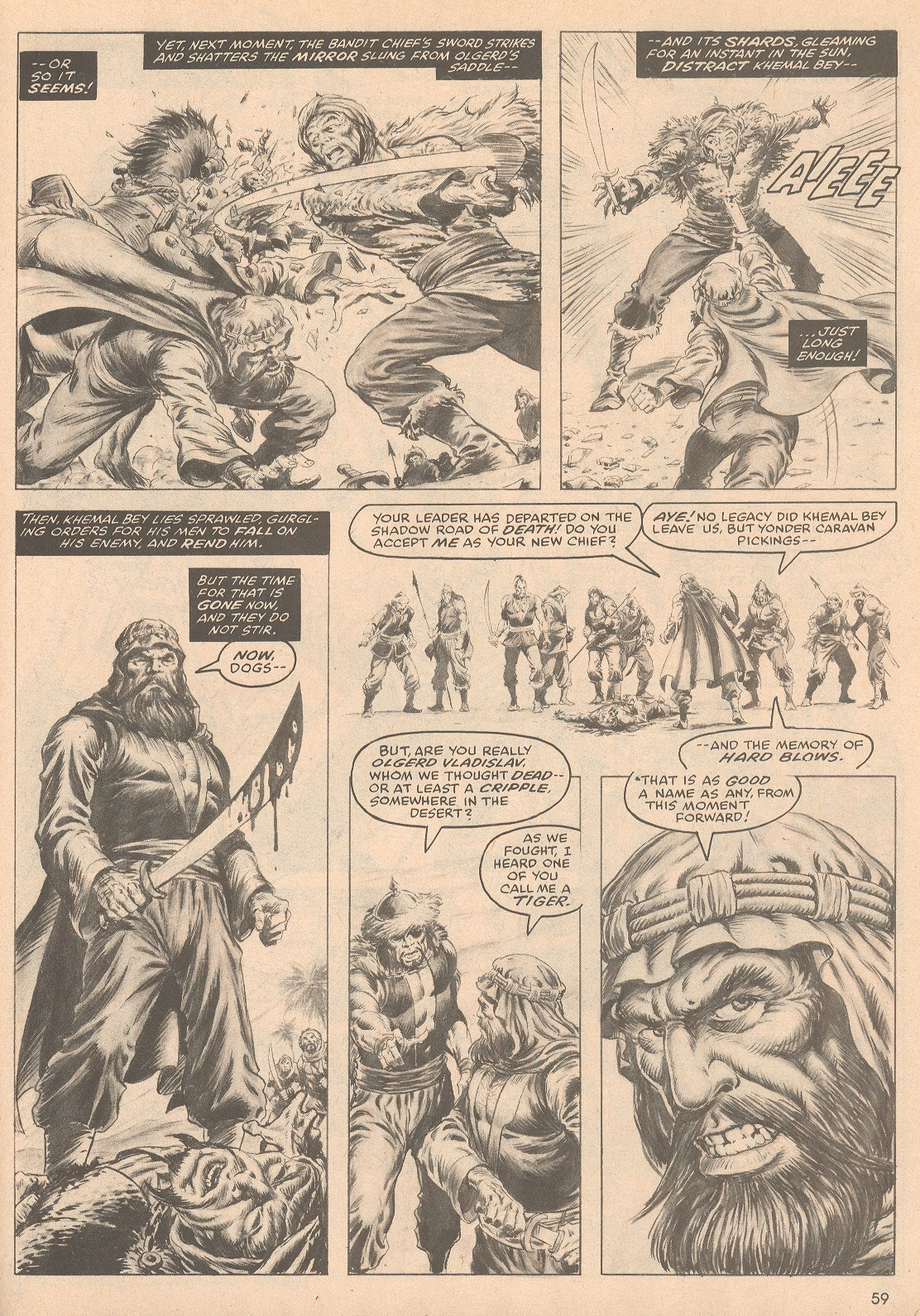 The Savage Sword Of Conan Issue #58 #59 - English 60