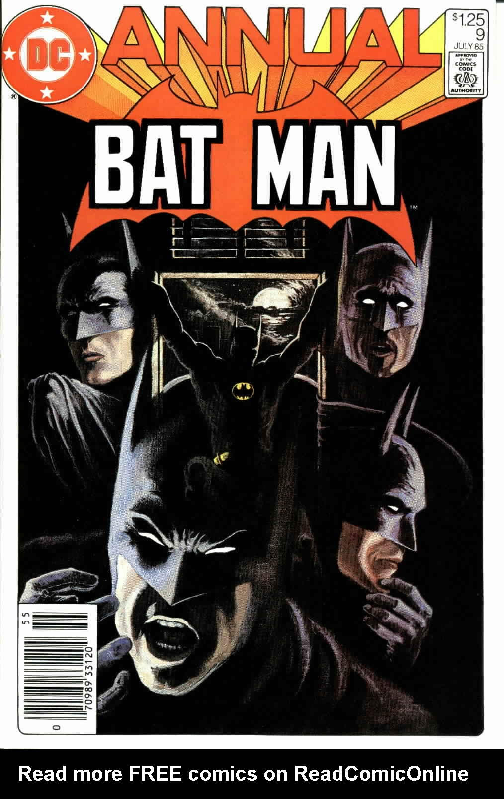 Batman (1940) _Annual_9 Page 1