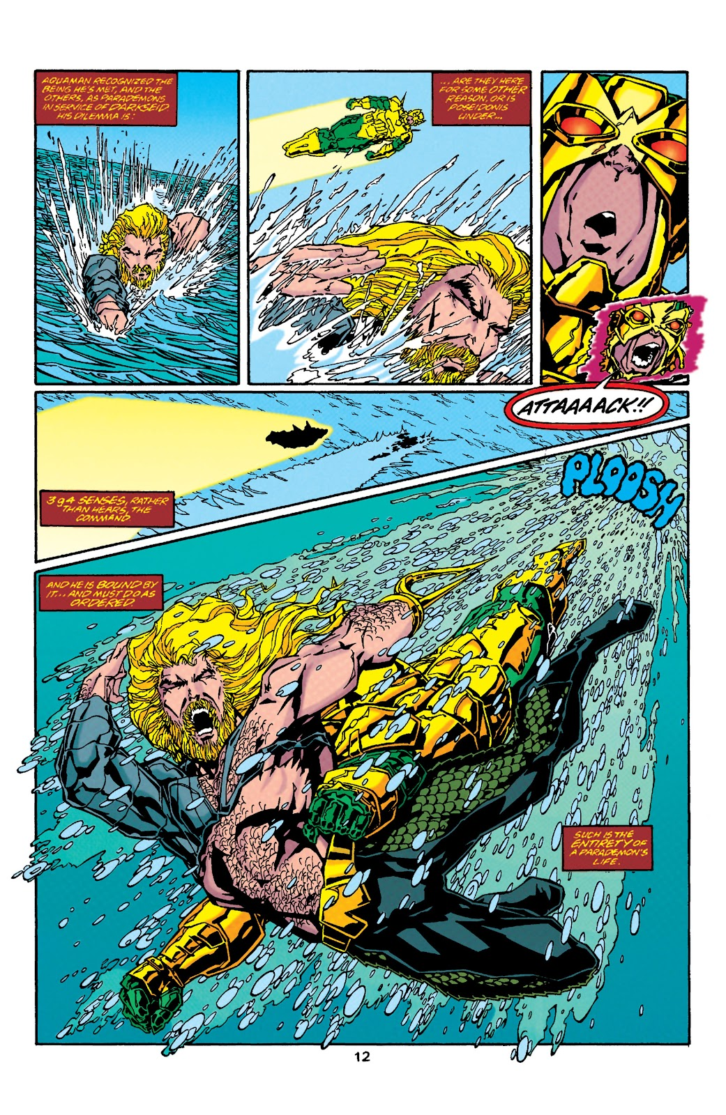 Aquaman (1994) Issue #37 #43 - English 12