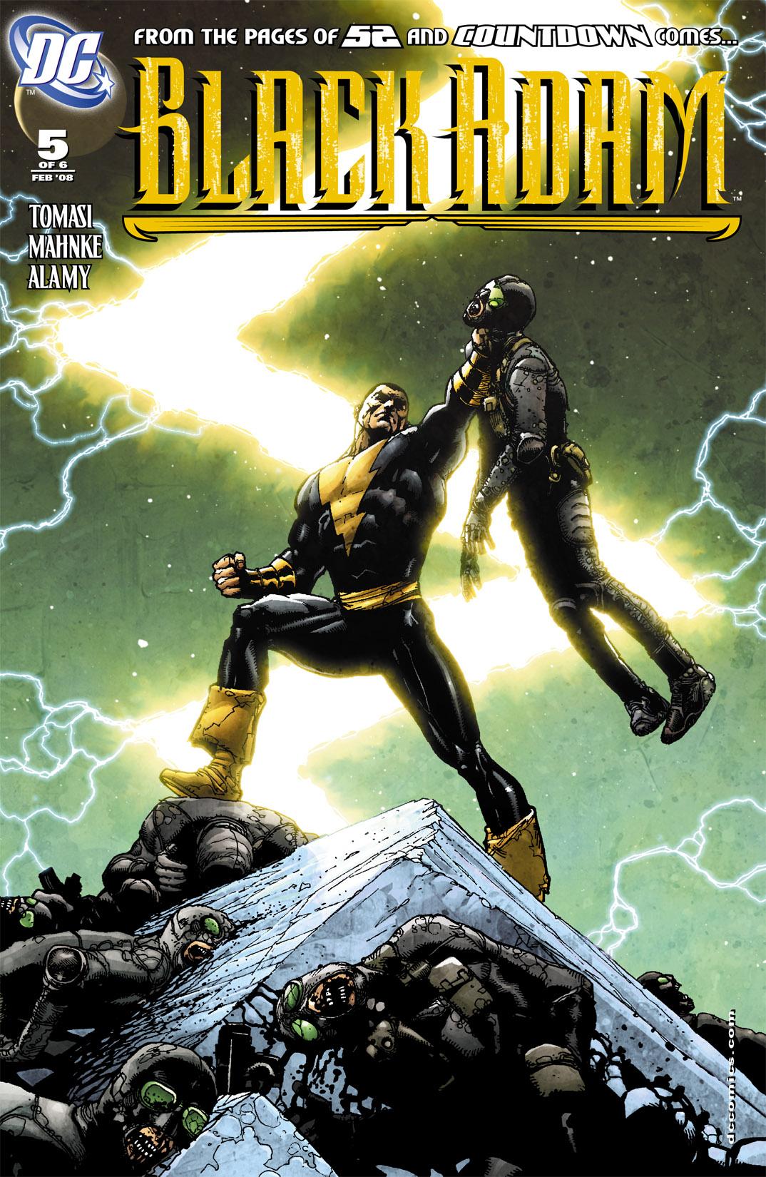 Black Adam: The Dark Age 5 Page 1