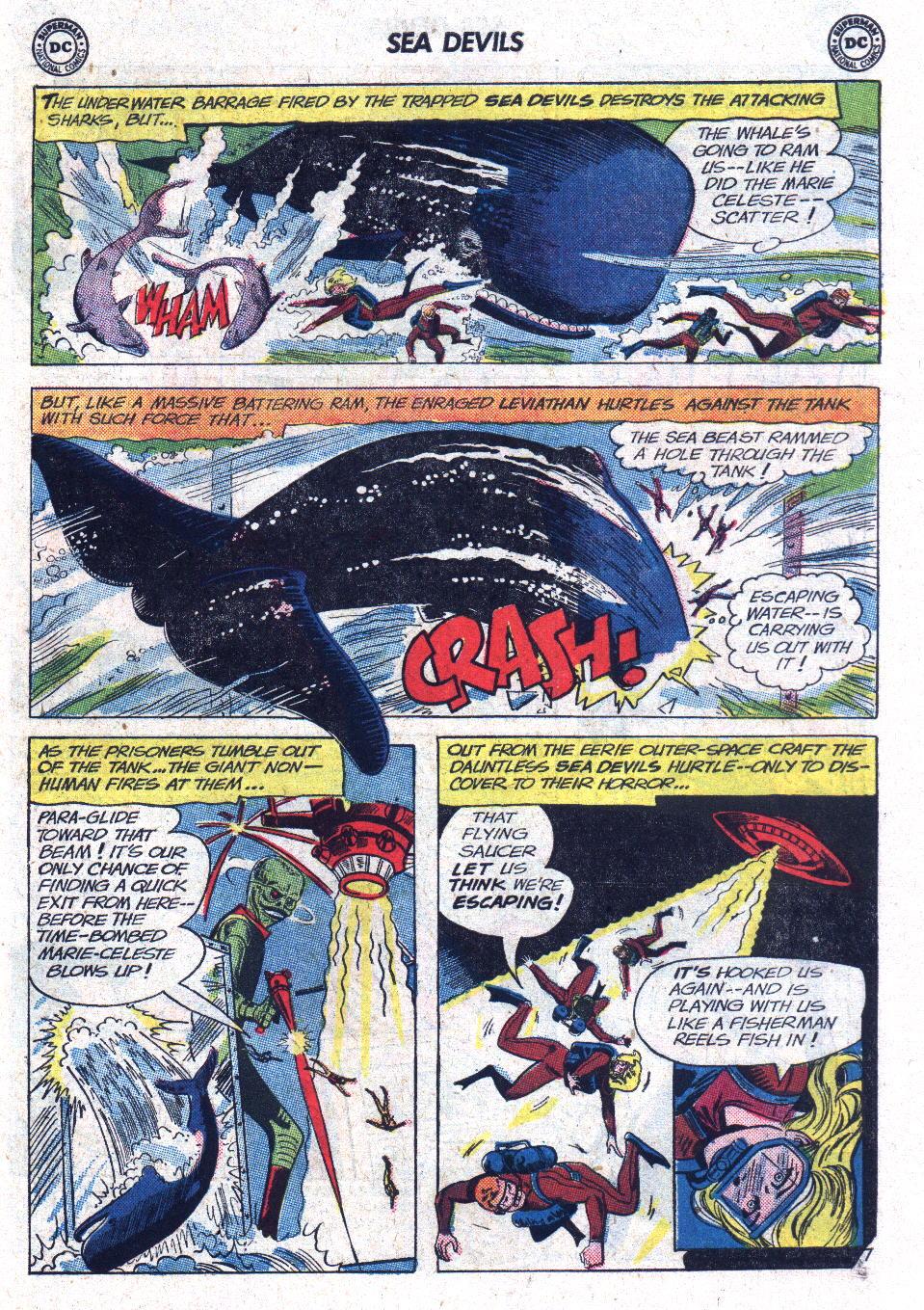 Read online Sea Devils comic -  Issue #13 - 31