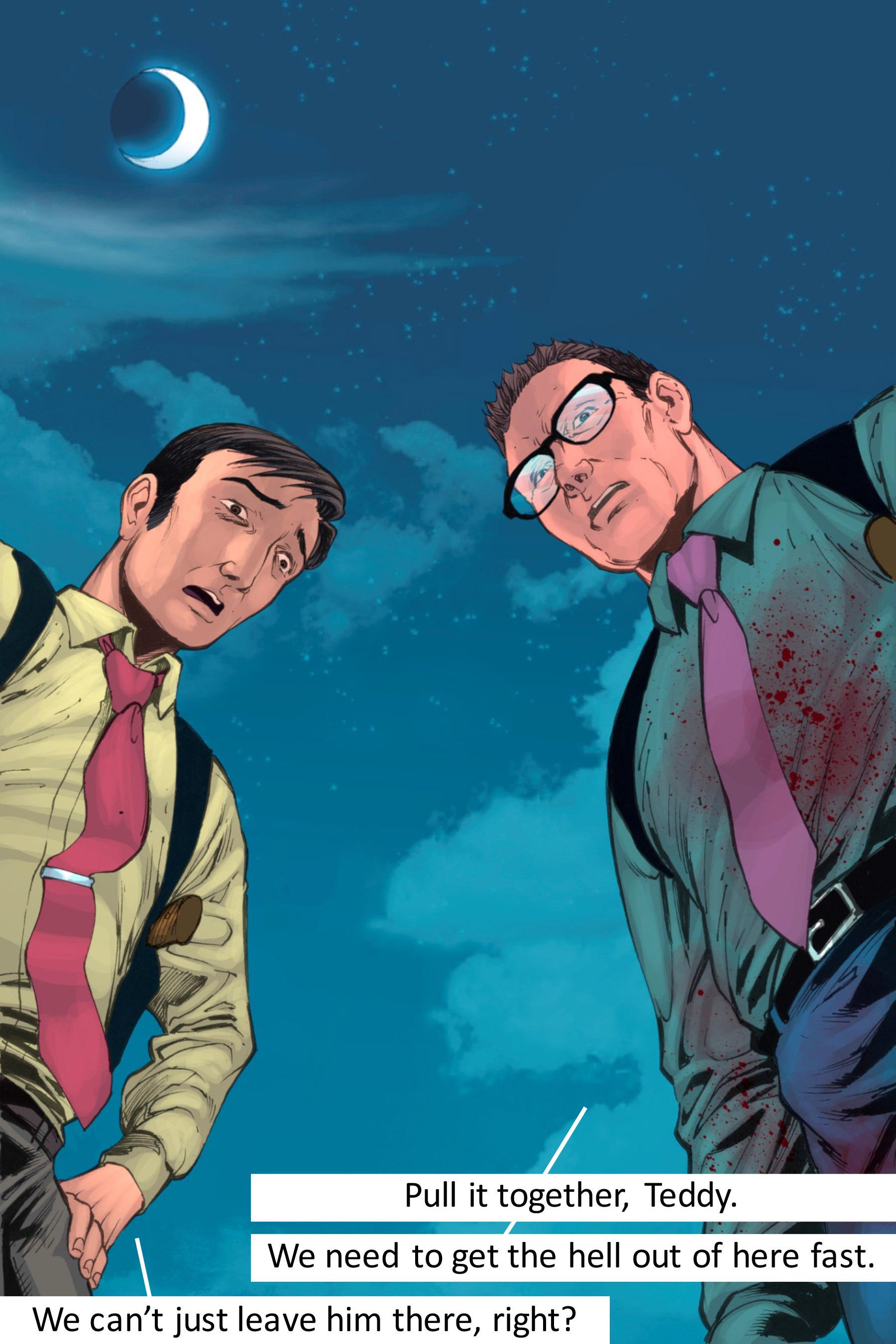 Read online Z-Men comic -  Issue #3 - 142