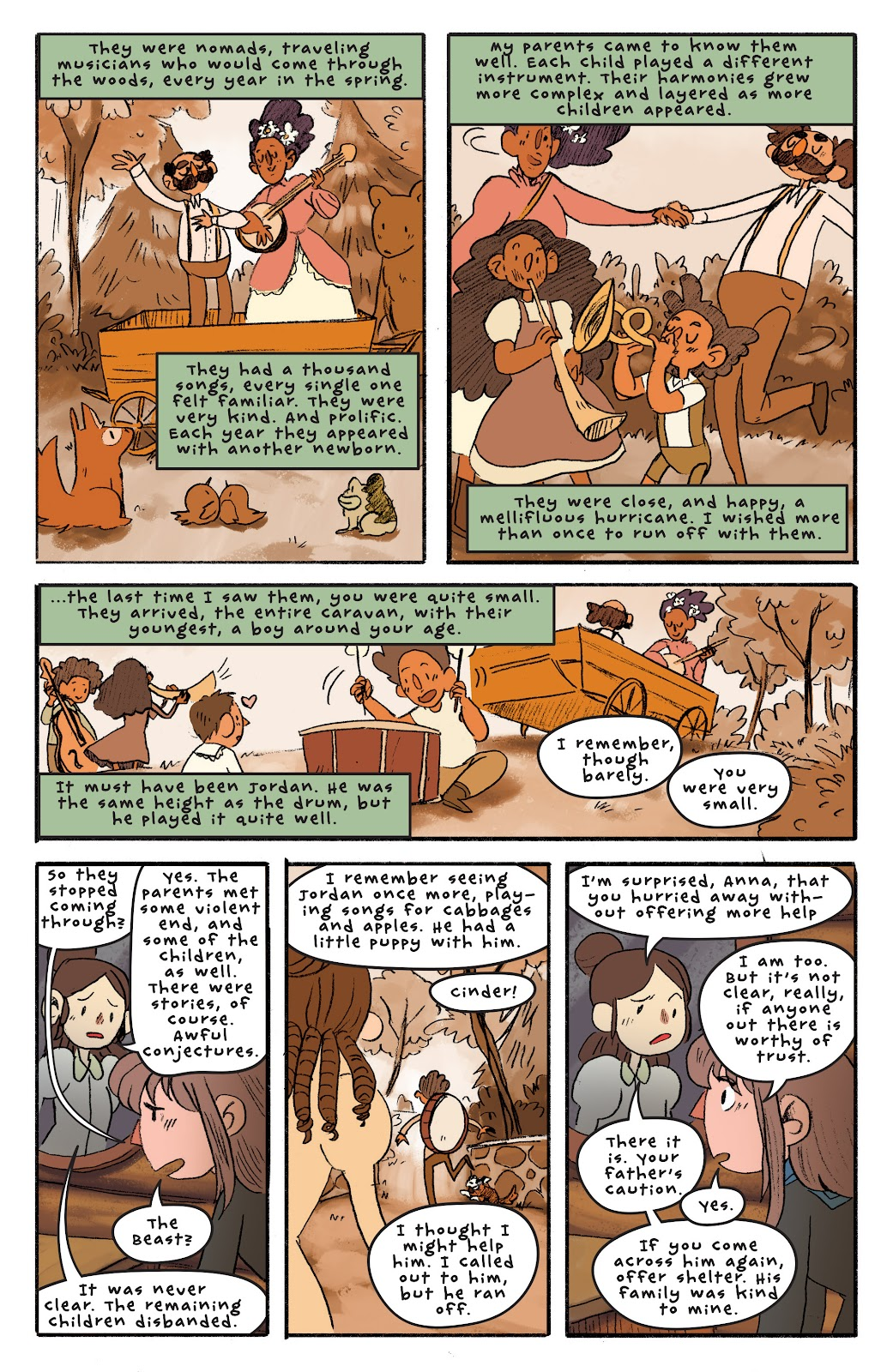 Over the Garden Wall (2016) Issue #4 #4 - English 19