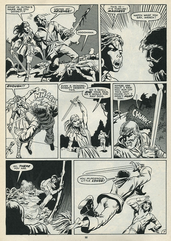The Savage Sword Of Conan Issue #172 #173 - English 34