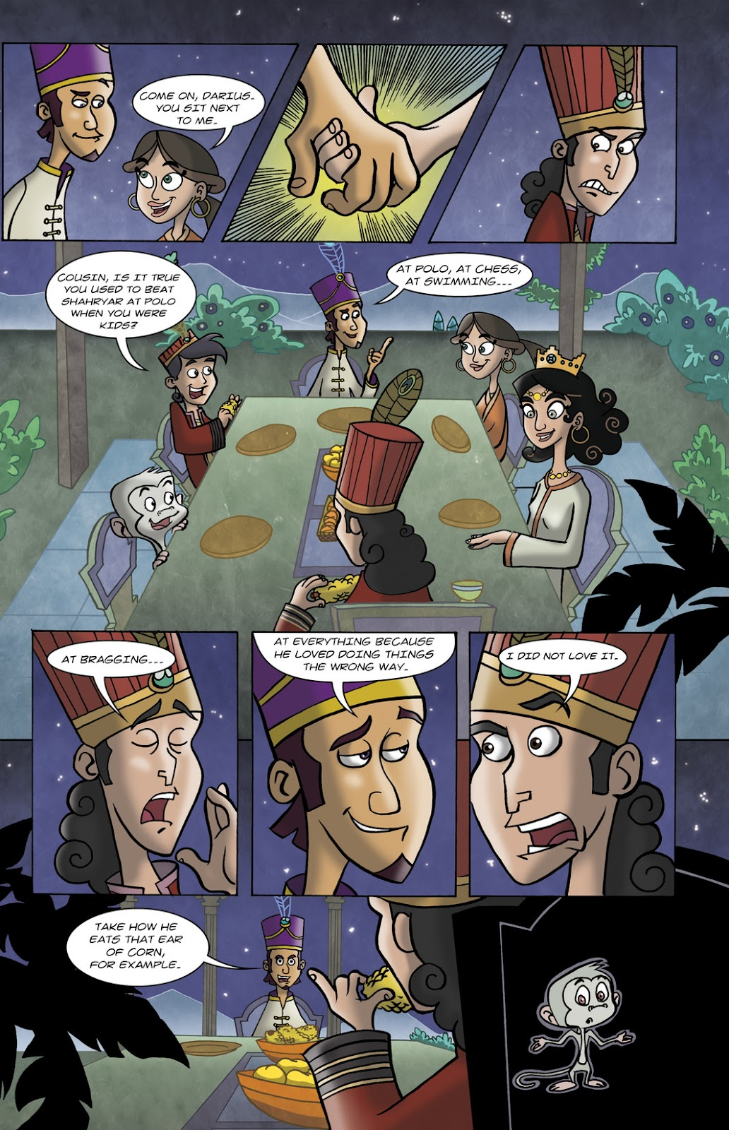 1001 Nights Issue #10 Page 5