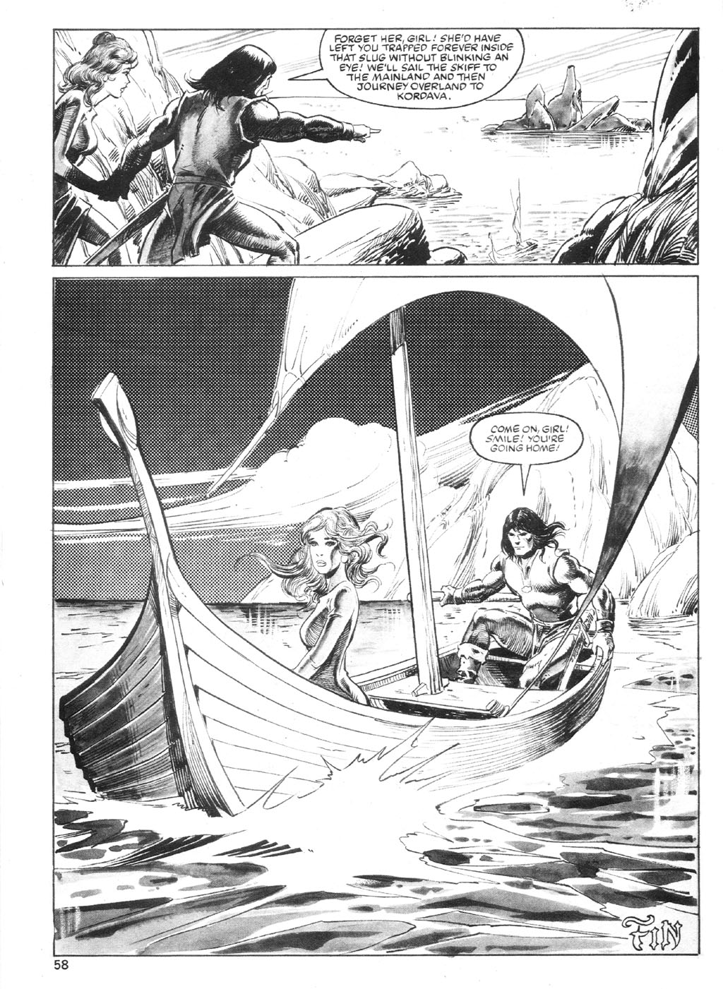 The Savage Sword Of Conan Issue #94 #95 - English 57