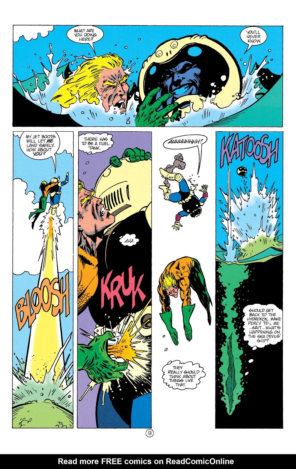 Aquaman (1991) Issue #10 #10 - English 10
