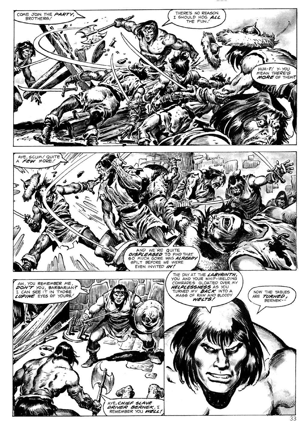 The Savage Sword Of Conan Issue #71 #72 - English 33