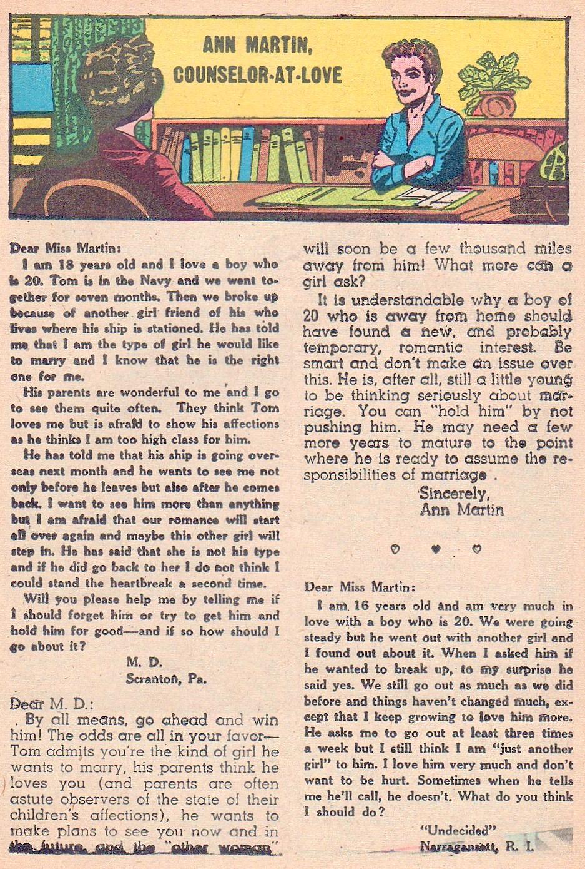 Read online Secret Hearts comic -  Issue #44 - 17