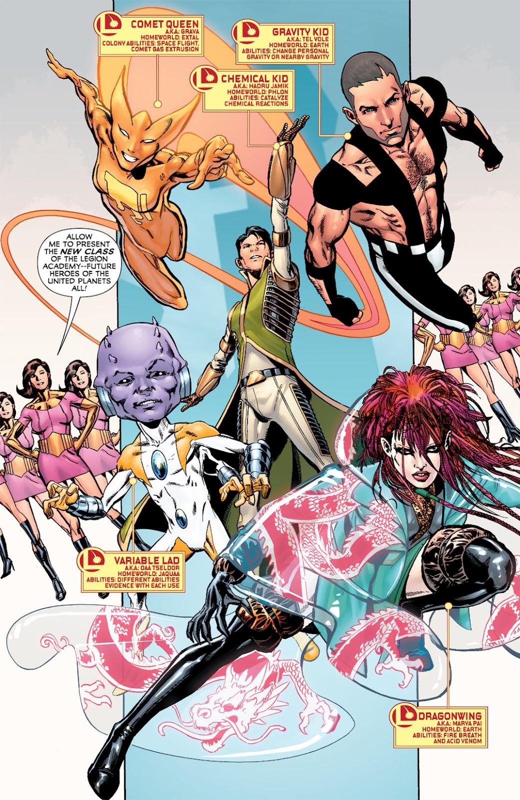 Legion of Super-Heroes (2010) Issue #6 #7 - English 19