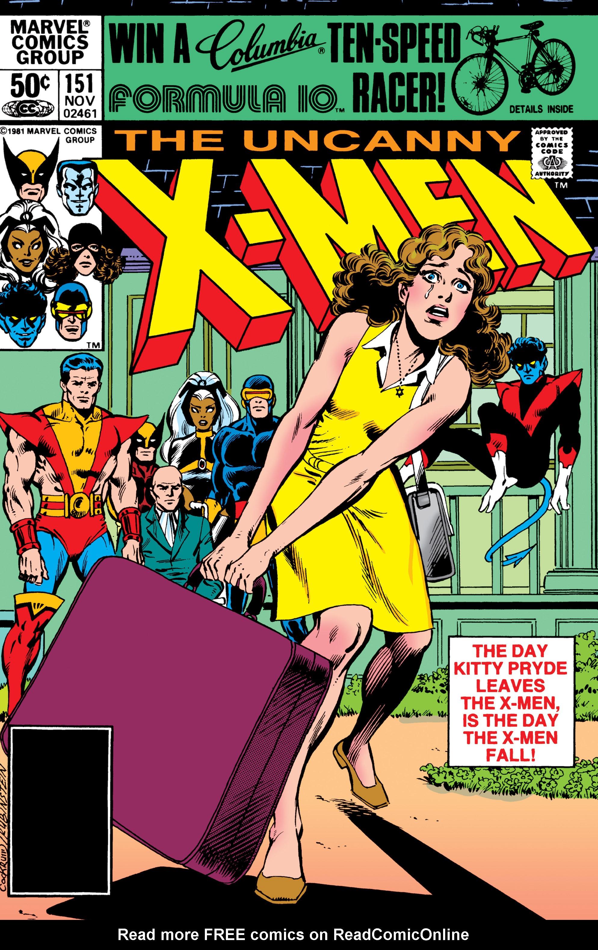 Uncanny X-Men (1963) 151 Page 1