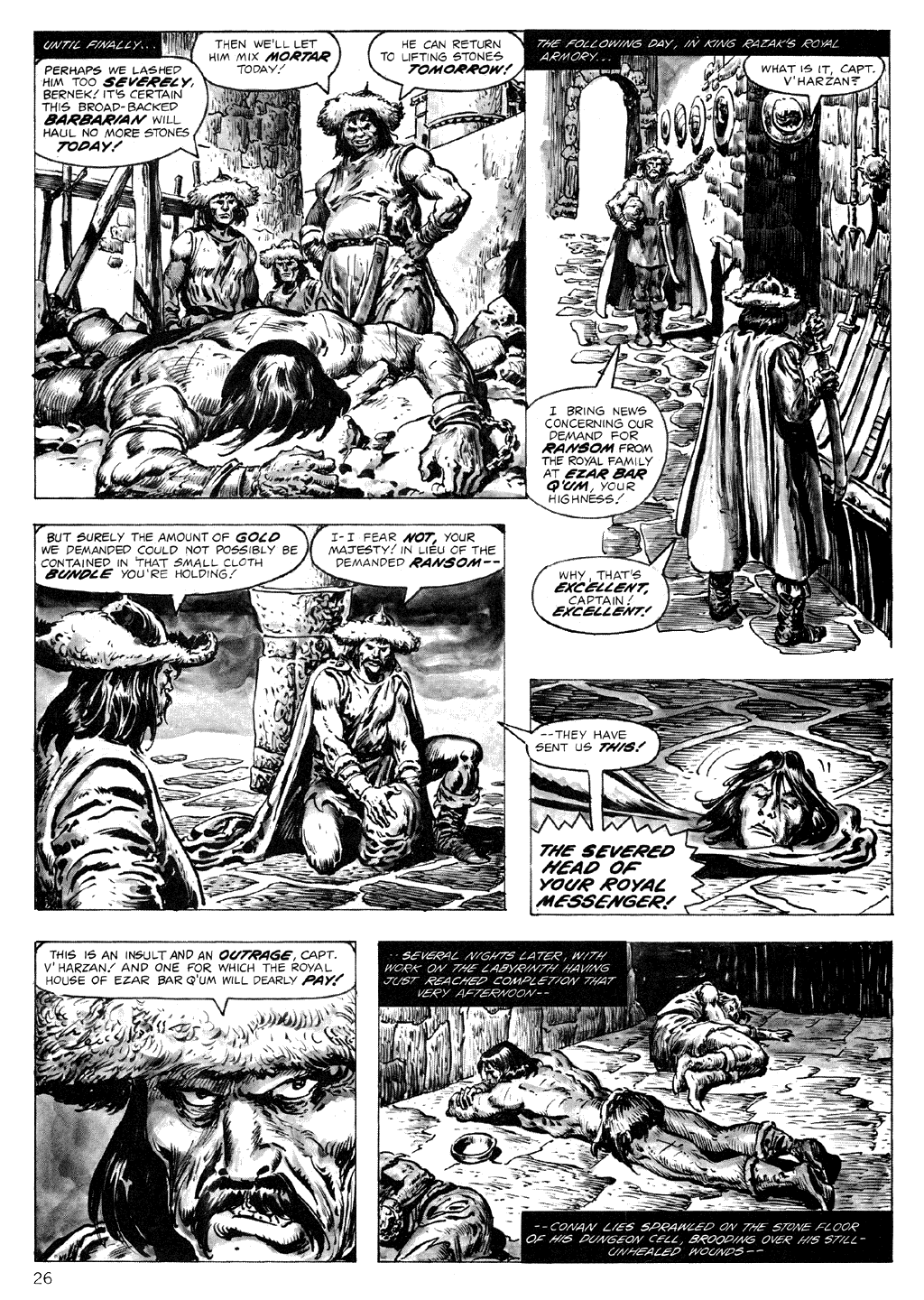 The Savage Sword Of Conan Issue #71 #72 - English 26
