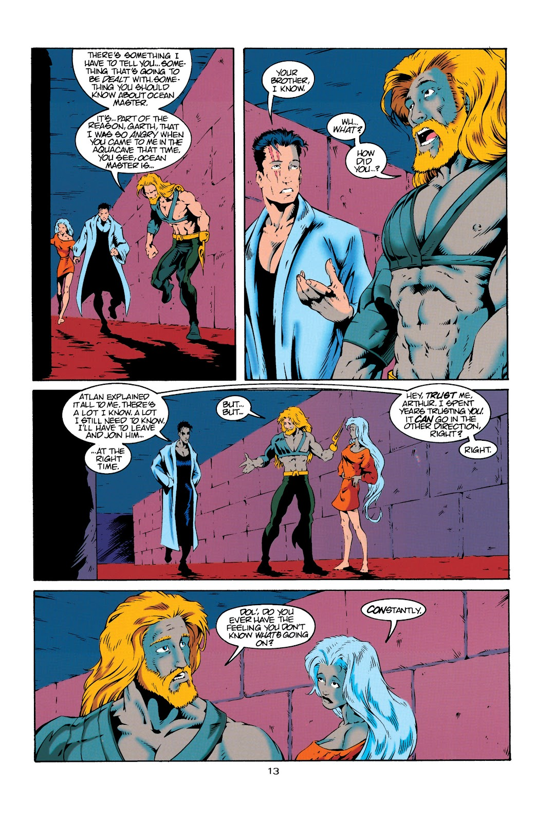 Aquaman (1994) Issue #20 #26 - English 13