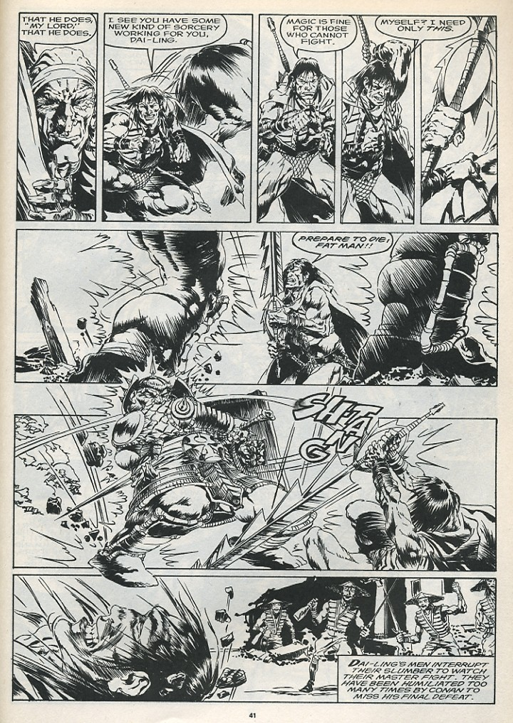 The Savage Sword Of Conan Issue #175 #176 - English 43