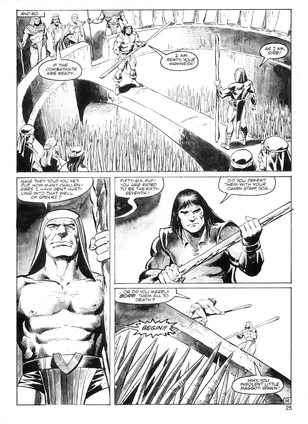 The Savage Sword Of Conan Issue #94 #95 - English 24