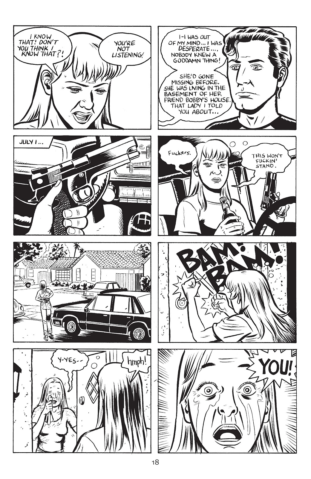 Stray Bullets Issue #27 #27 - English 20