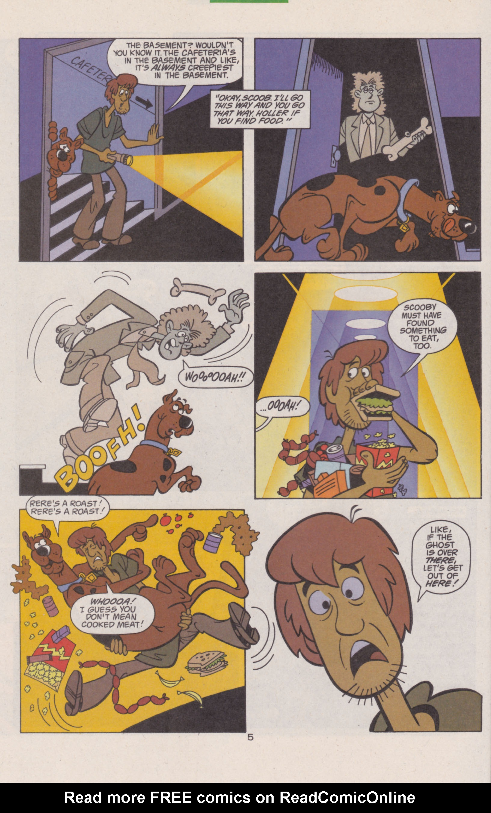 Read online Scooby-Doo (1997) comic -  Issue #13 - 20