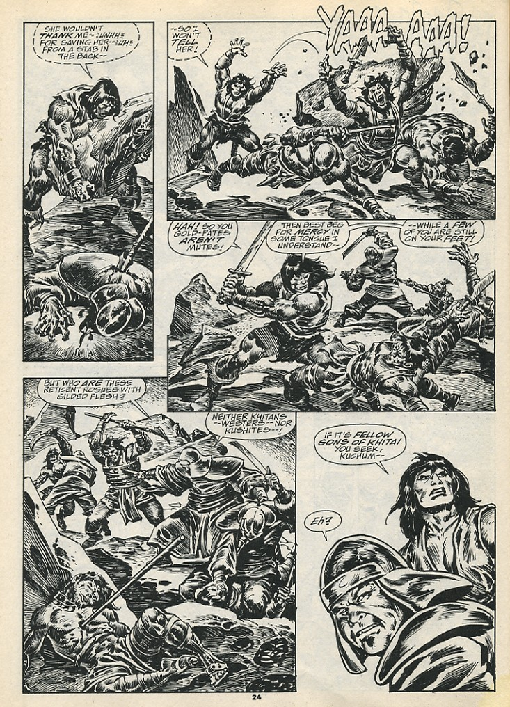 The Savage Sword Of Conan Issue #192 #193 - English 26