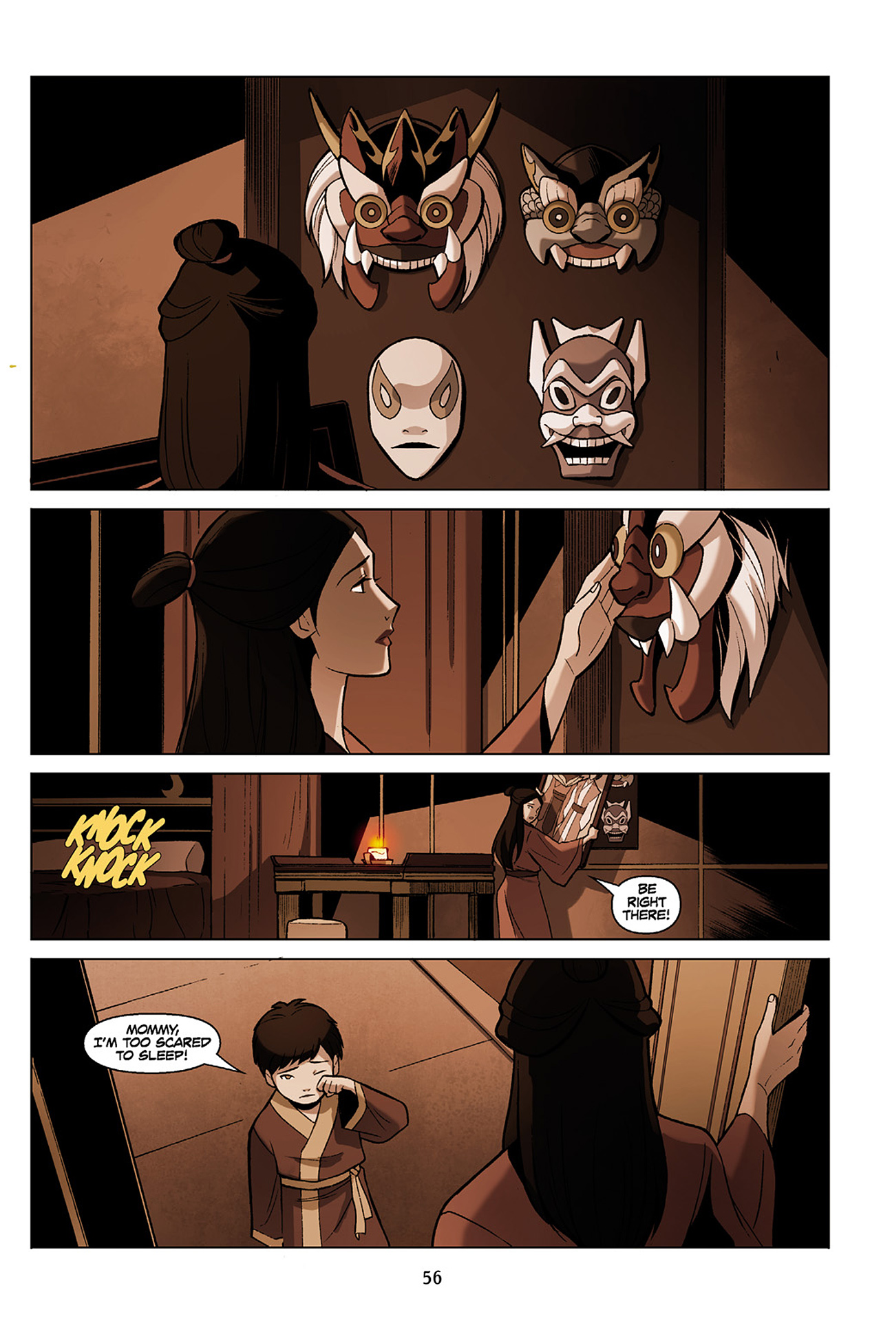 Read online Nickelodeon Avatar: The Last Airbender - The Search comic -  Issue # Part 1 - 57