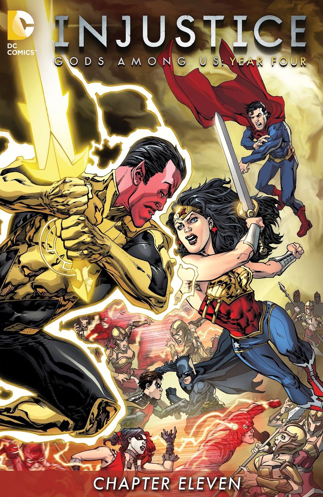 Injustice: Gods Among Us Year Four Issue #11 #12 - English 2