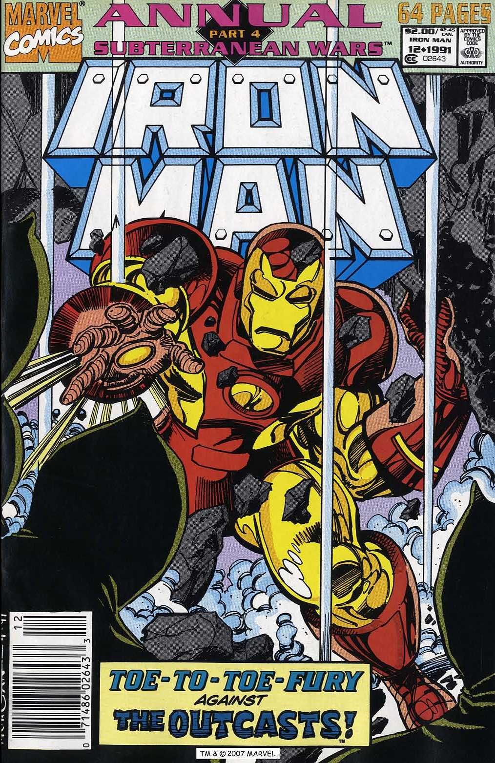 Iron Man Annual 12 Page 1