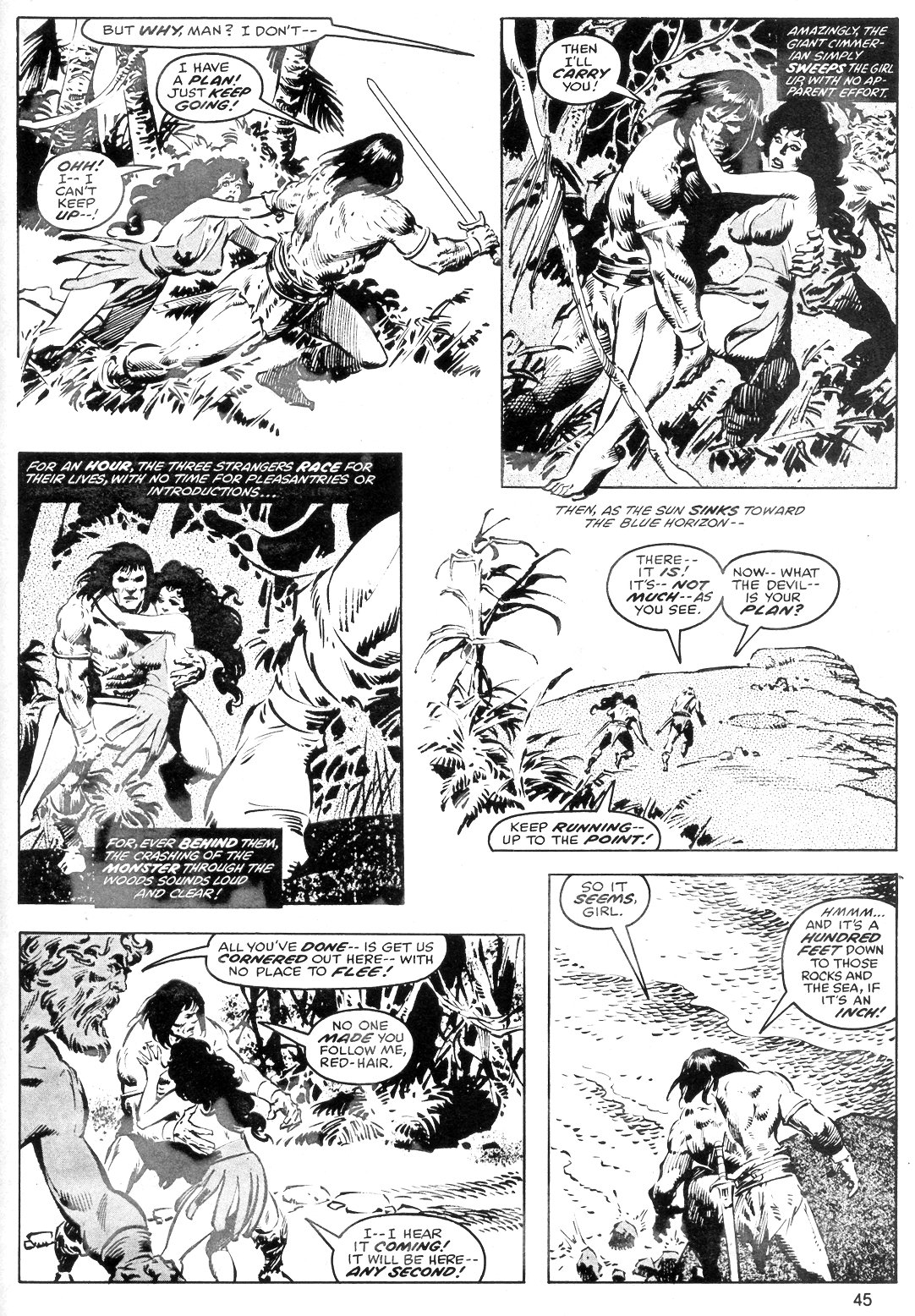 The Savage Sword Of Conan Issue #40 #41 - English 45