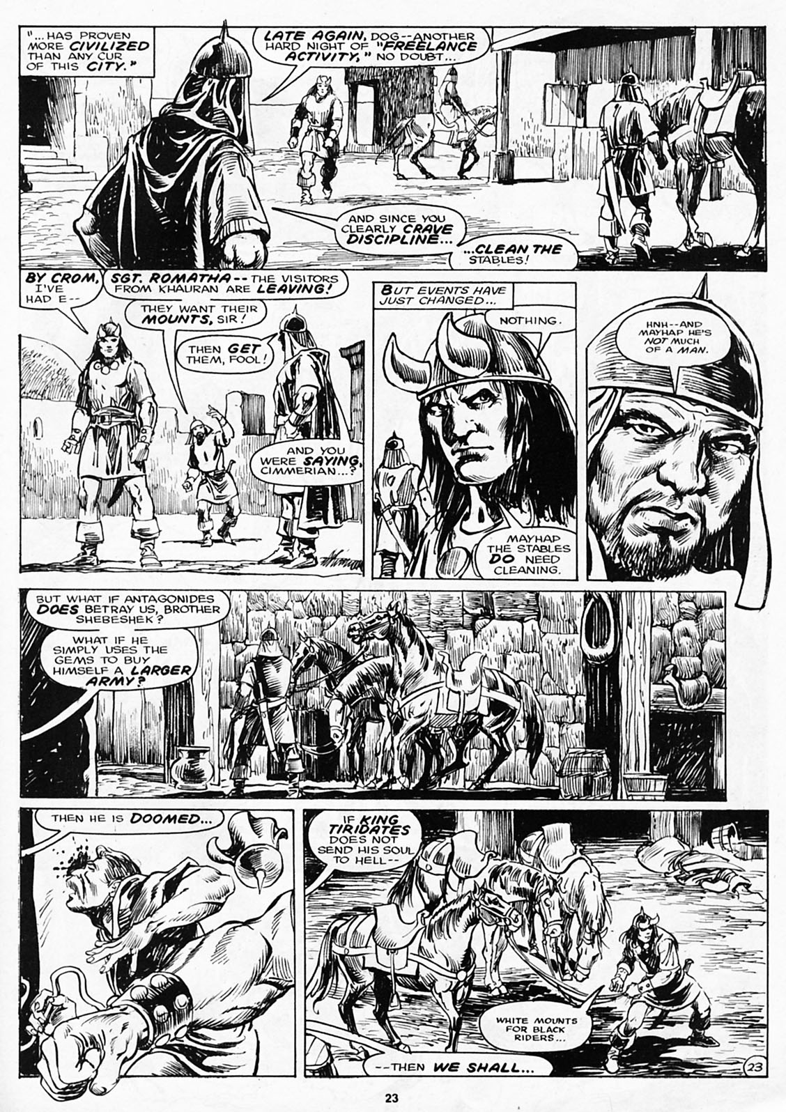 The Savage Sword Of Conan Issue #180 #181 - English 25