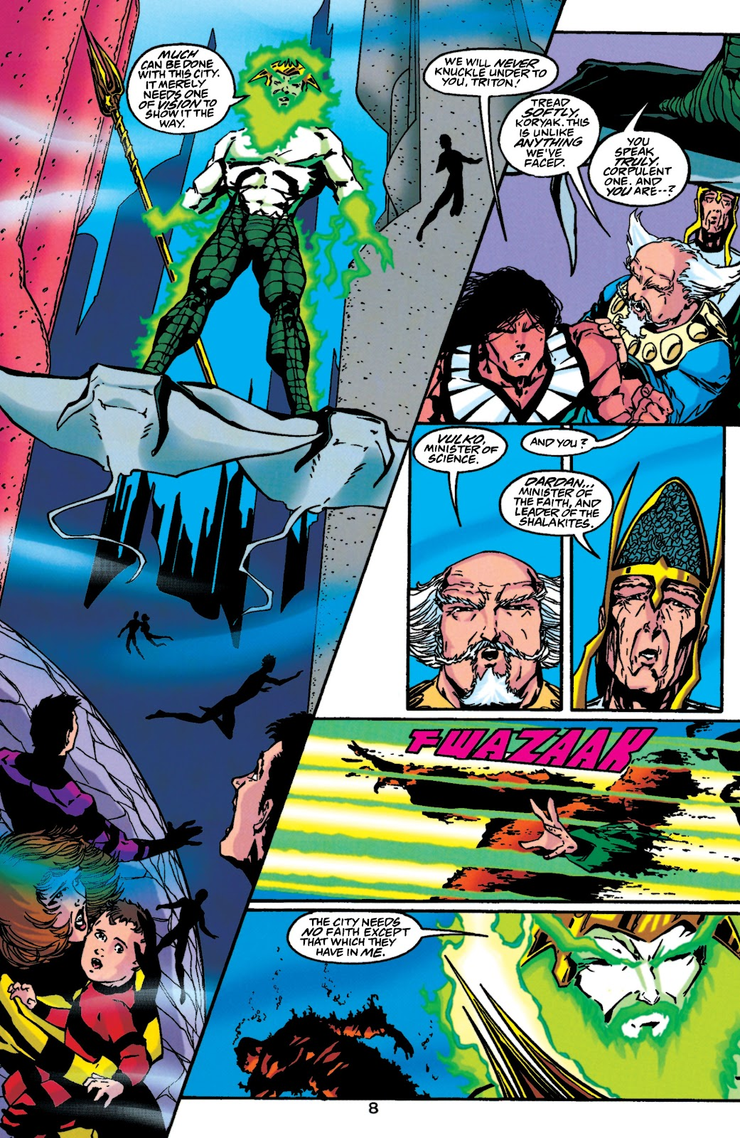 Aquaman (1994) Issue #46 #52 - English 8