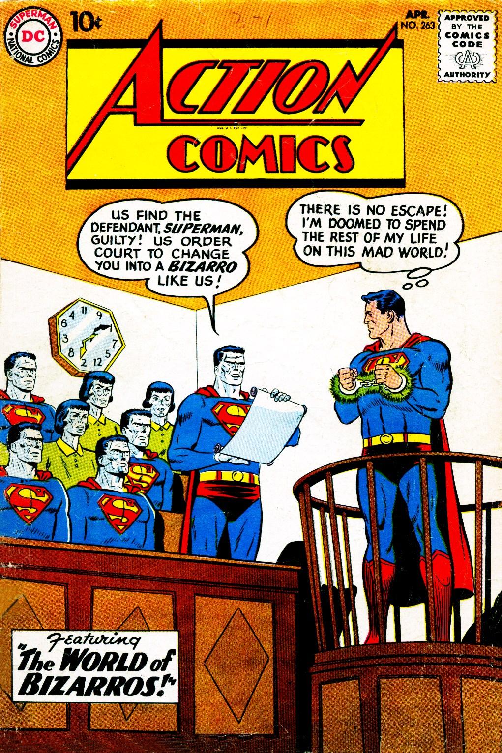 Action Comics (1938) 263 Page 1