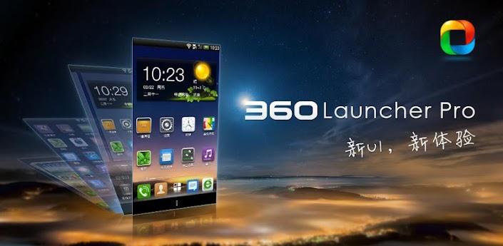 360 Launcher Pro Apk v5.0.4