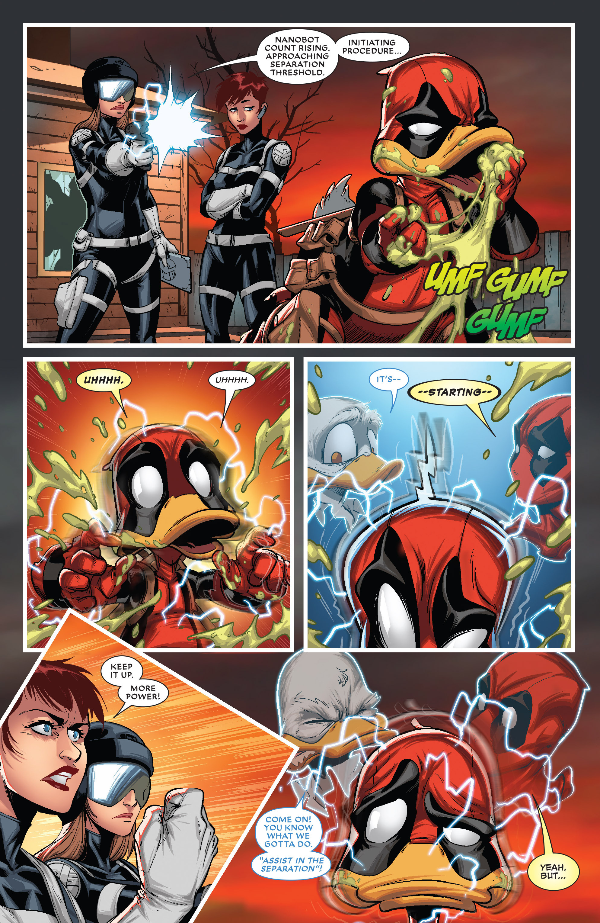 Read online Deadpool The Duck comic -  Issue #5 - 10