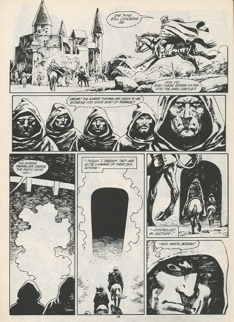 The Savage Sword Of Conan Issue #189 #190 - English 30