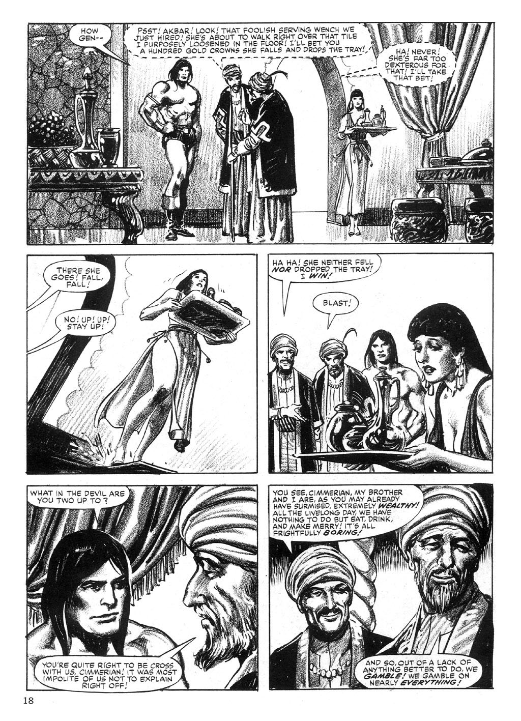 The Savage Sword Of Conan Issue #89 #90 - English 18