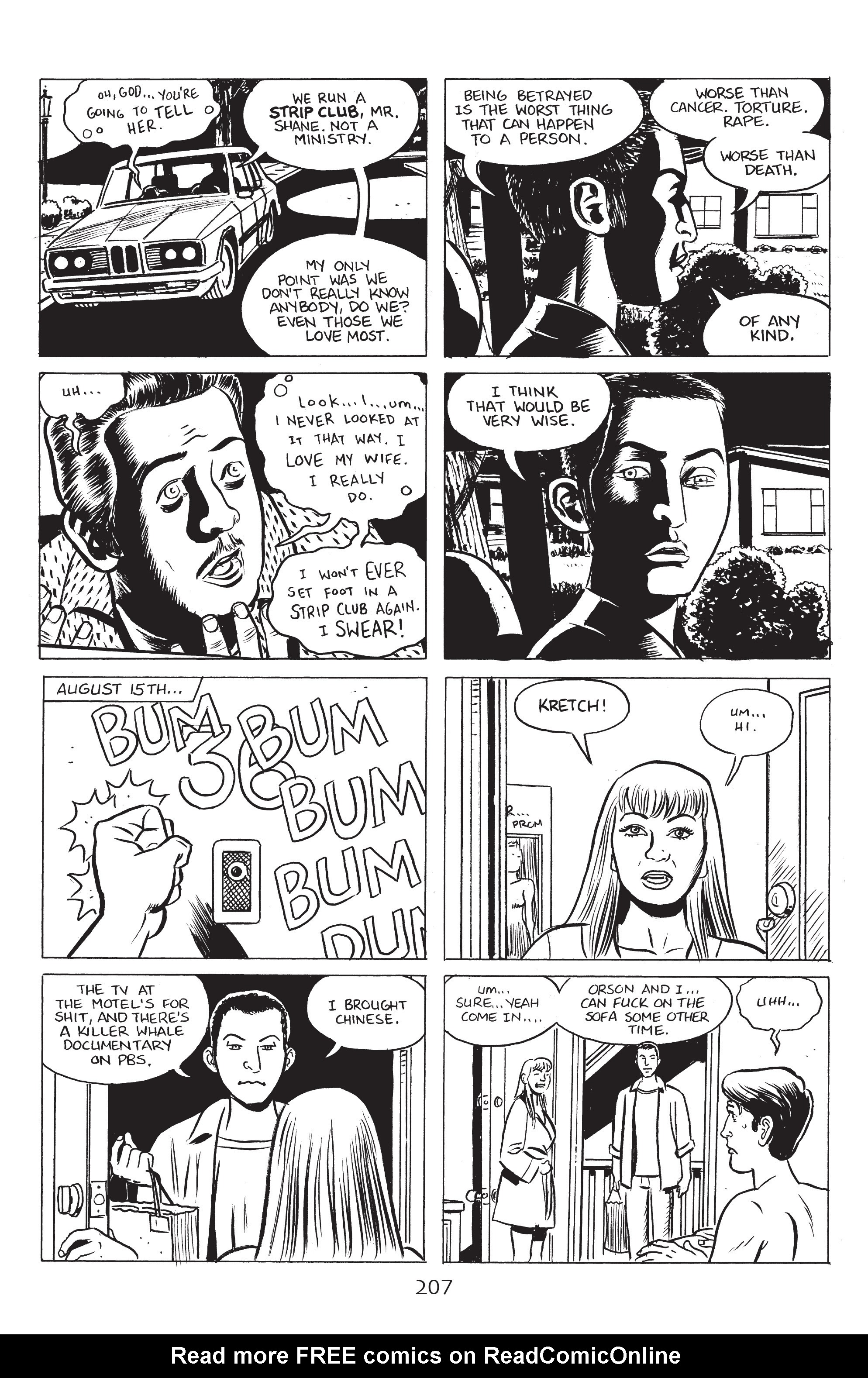 Read online Stray Bullets: Sunshine & Roses comic -  Issue #8 - 13