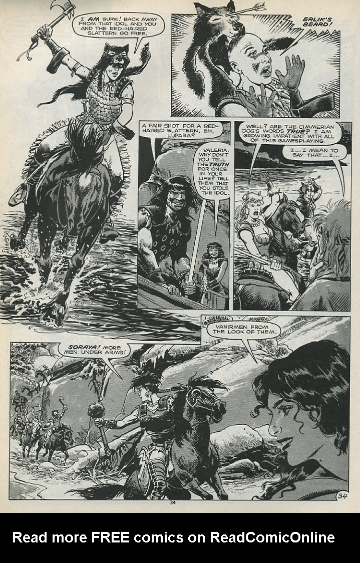 The Savage Sword Of Conan Issue #179 #180 - English 36