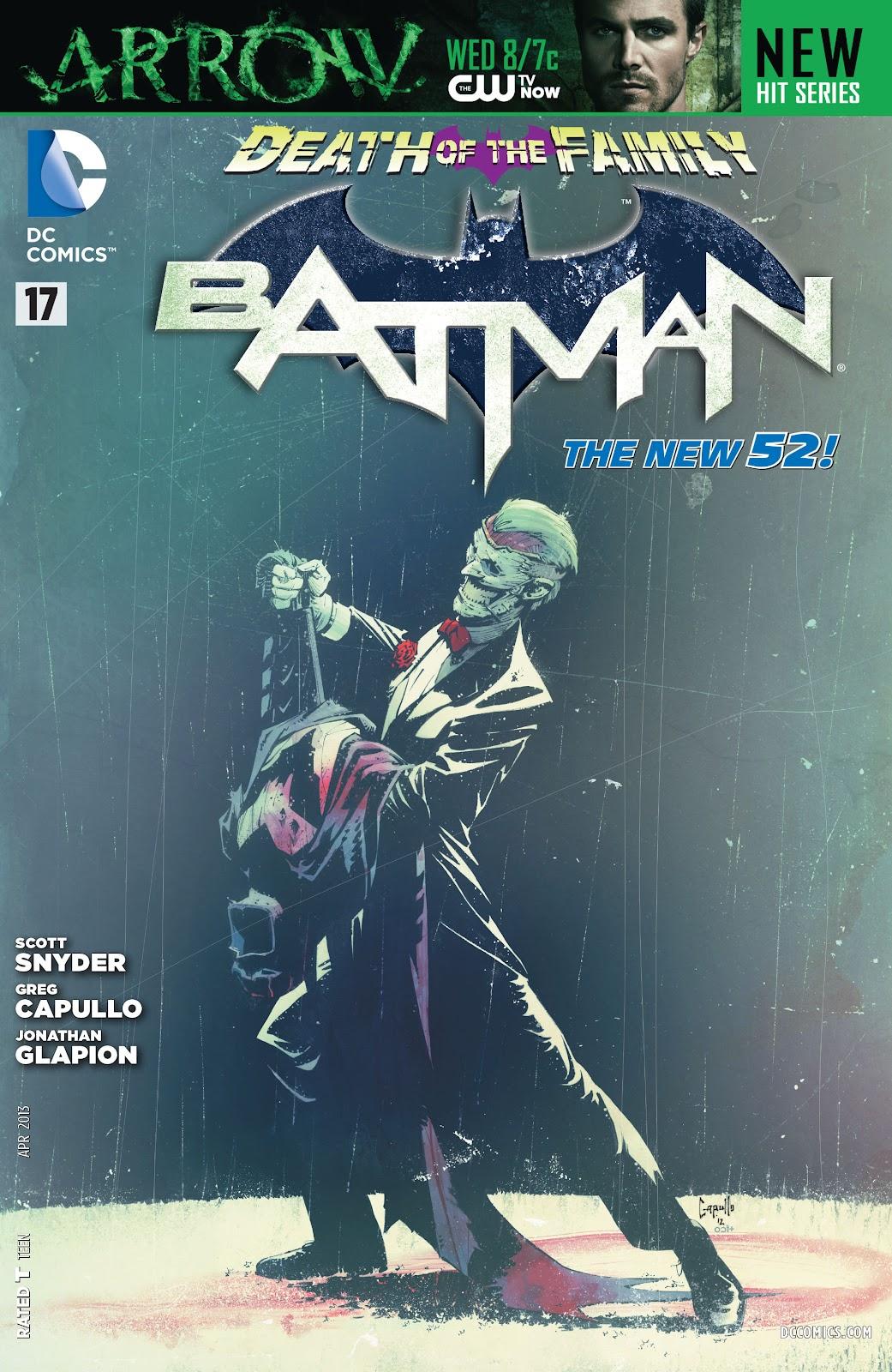 Batman (2011) Issue #17 #32 - English 34