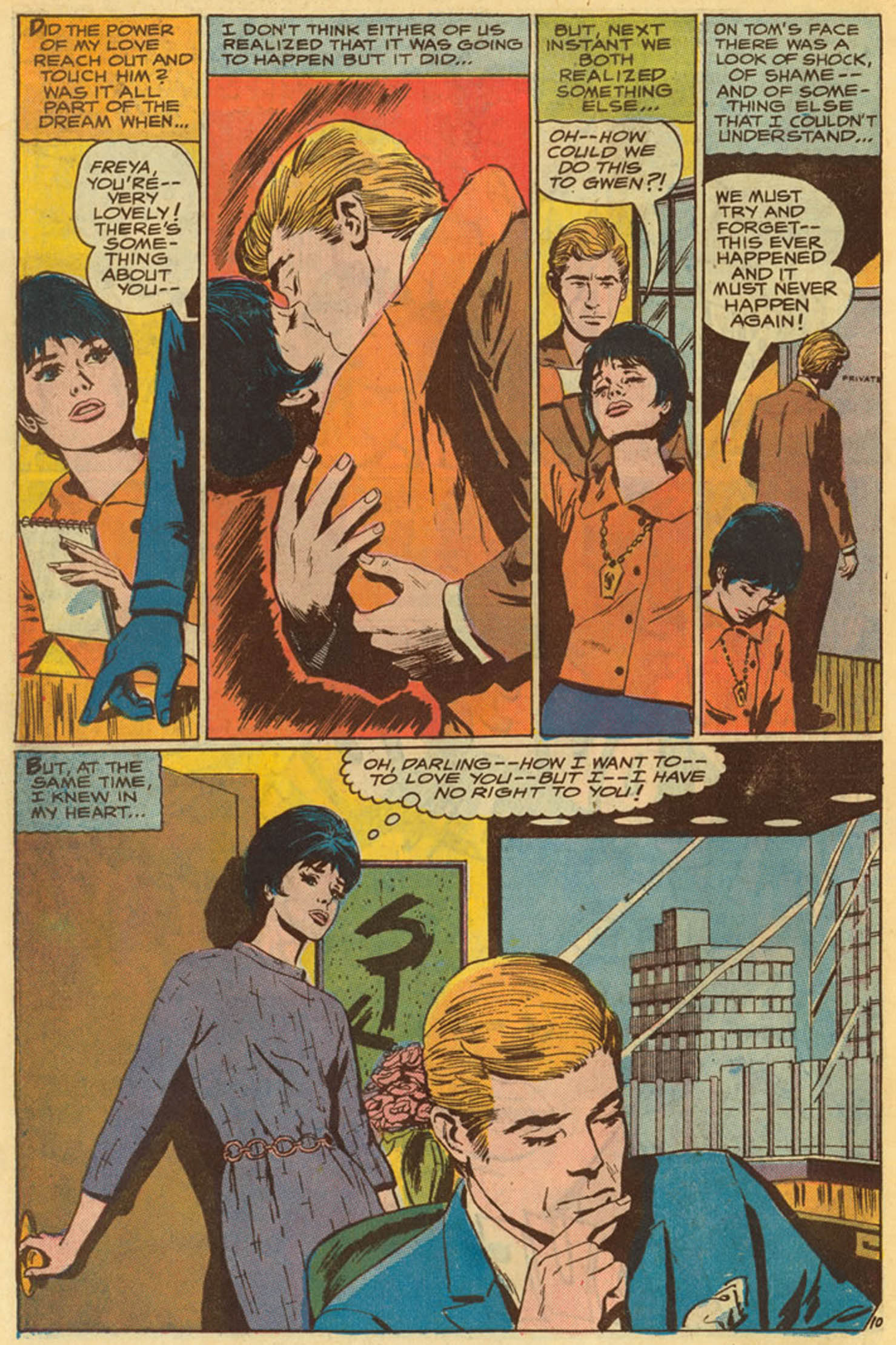 Read online Secret Hearts comic -  Issue #139 - 30