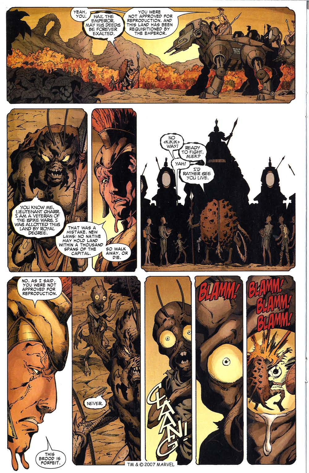 Read online The Incredible Hulk (2000) comic -  Issue #96 - 24