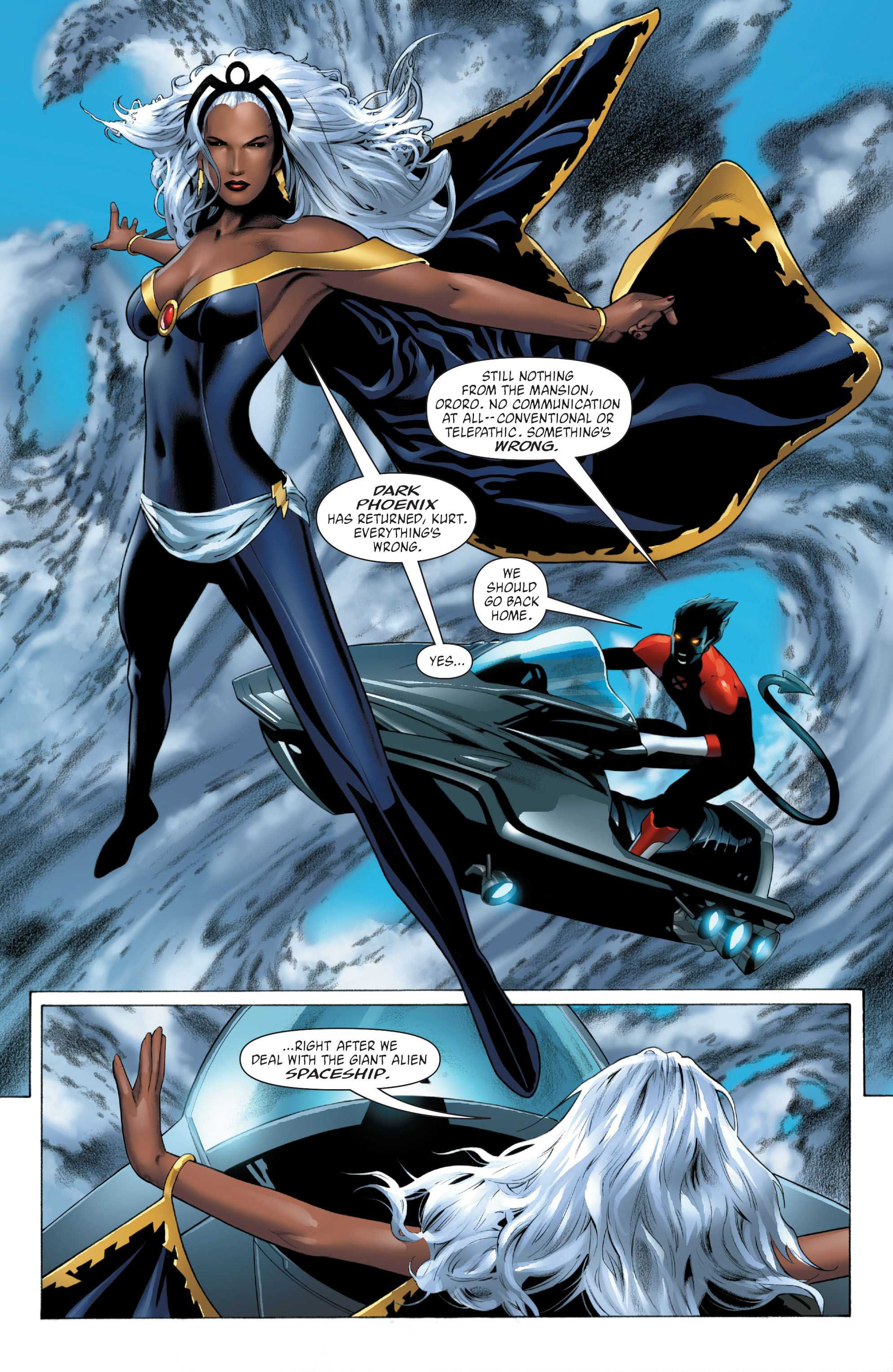 Read online X-Men: Phoenix - Endsong comic -  Issue #3 - 3