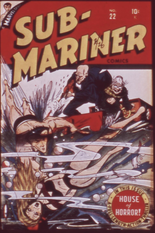 Sub-Mariner Comics 22 Page 1