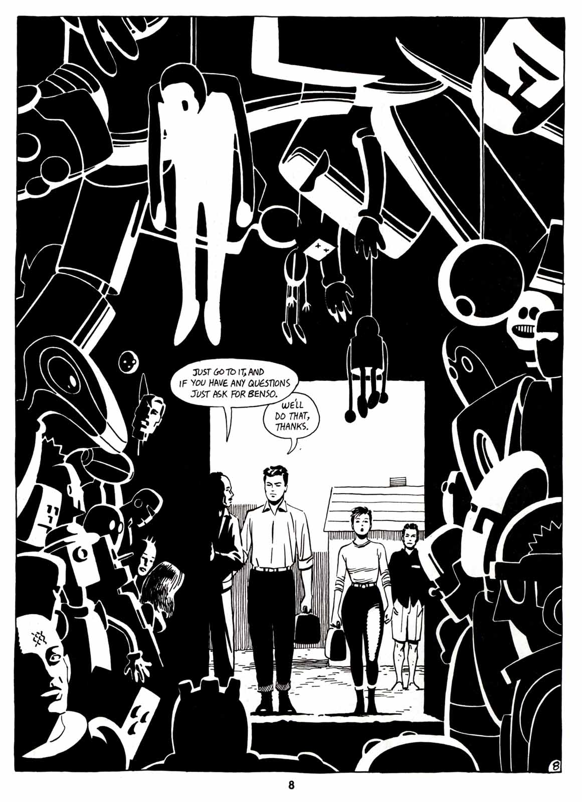 Love and Rockets (1982) Issue #7 #6 - English 10