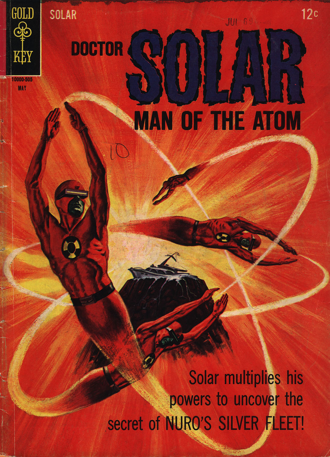 Doctor Solar, Man of the Atom (1962) 12 Page 1