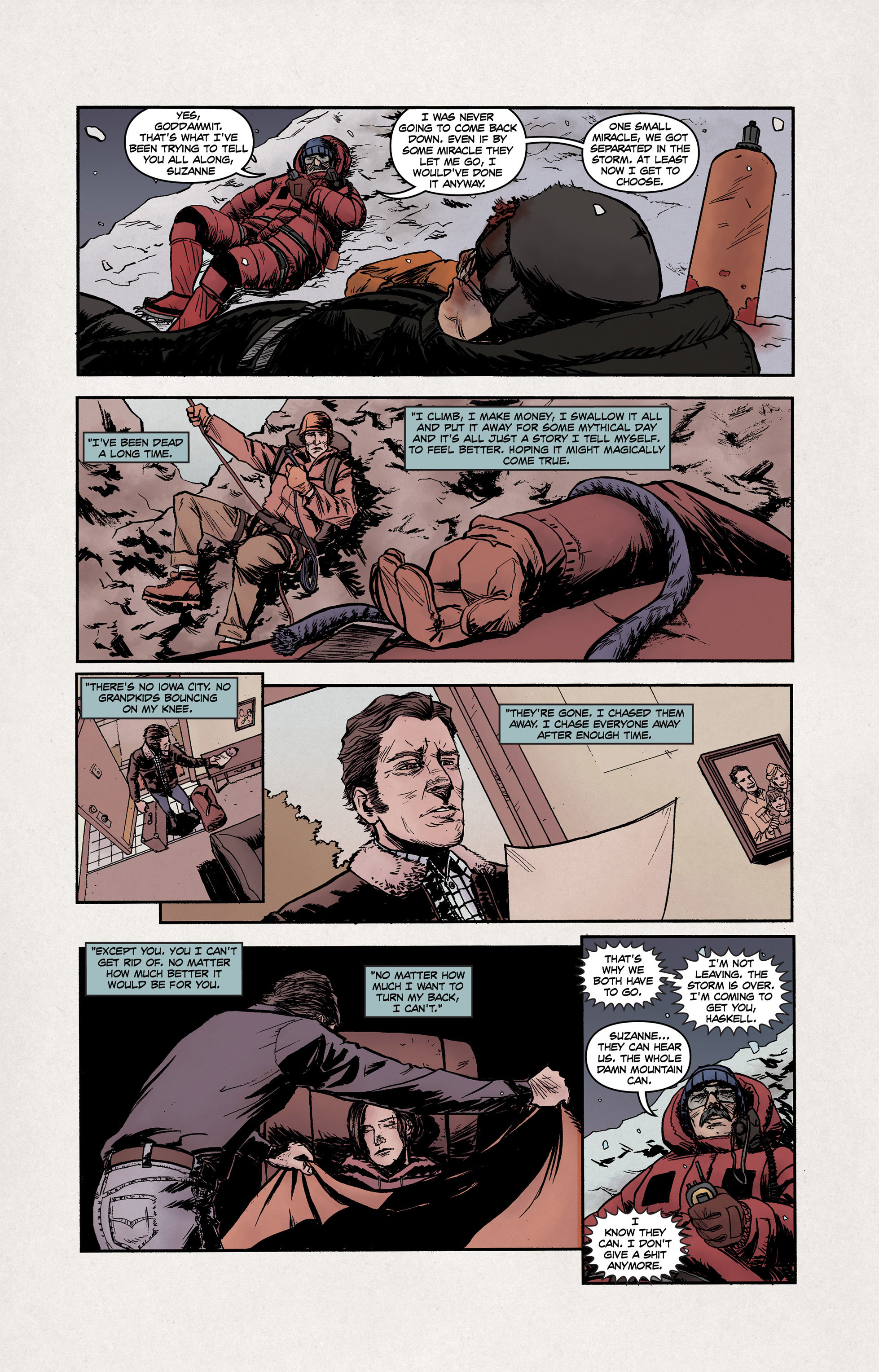 Read online High Crimes comic -  Issue #10 - 9