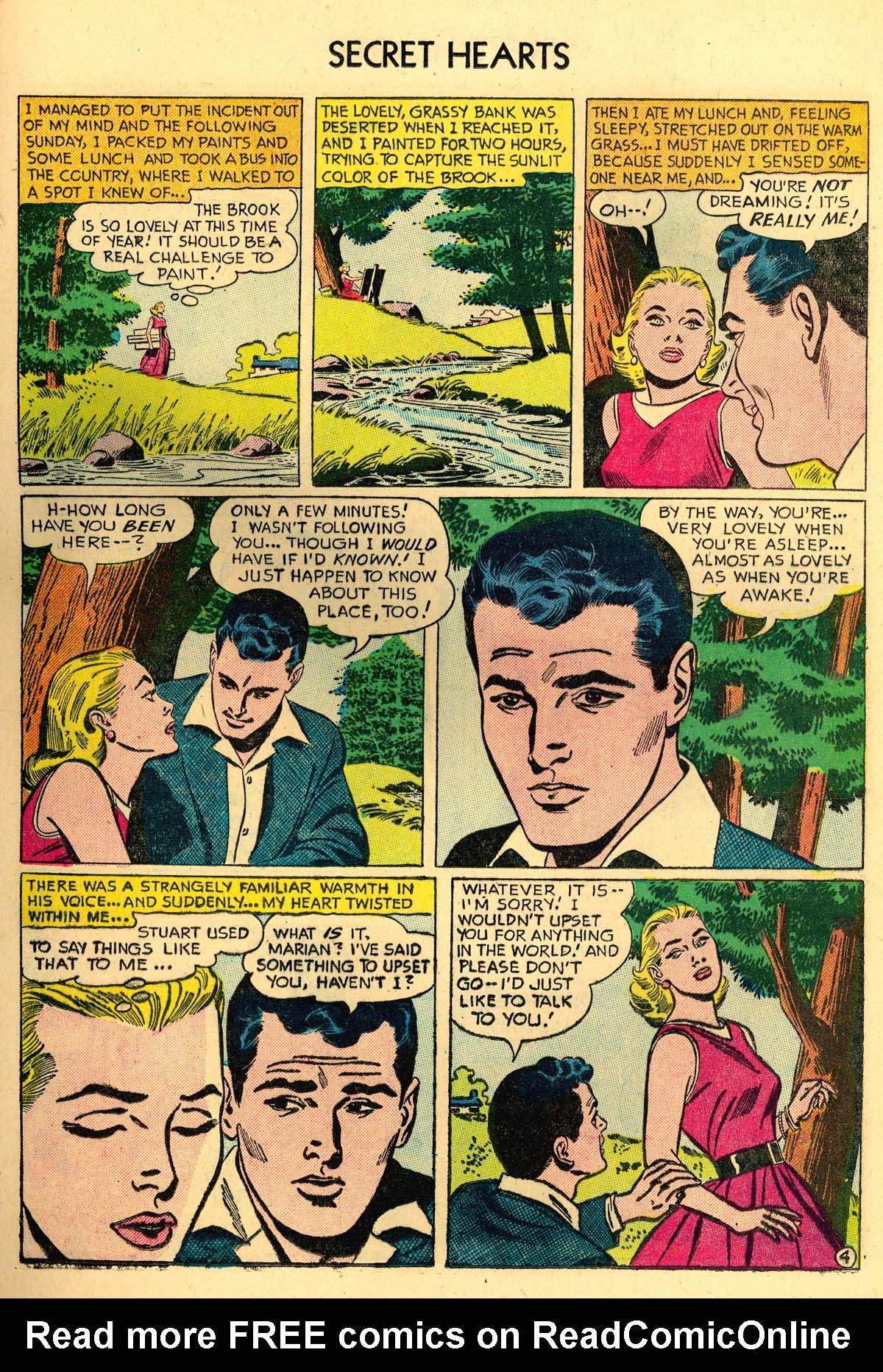 Read online Secret Hearts comic -  Issue #35 - 21
