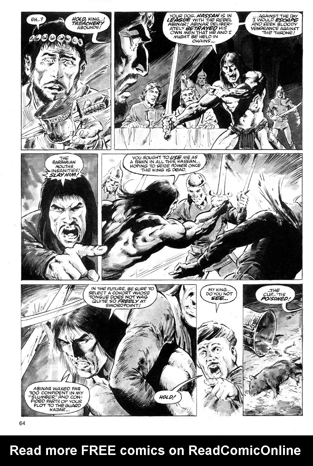 The Savage Sword Of Conan Issue #91 #92 - English 60